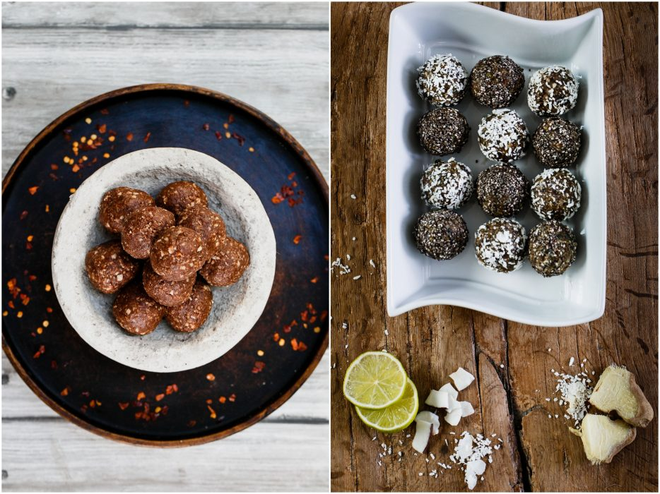 healthy eating raw balls, food photography