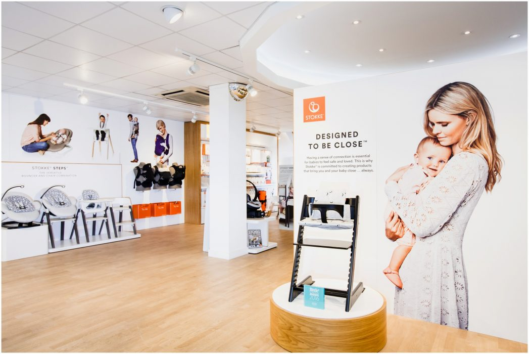 Stokke stop Interiors, London