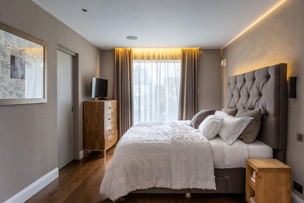interior photographer - master bedroom